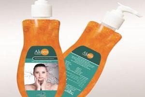 Skin Care Product - Akren Cleanser - IP - ECC