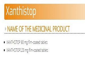 xanthistop 80 - 120 mg tab