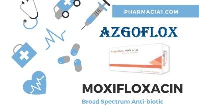 AZGOFLOX 400MG 5 F.C. TABS.