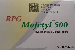 MOFETYL - MYCOPHENOLATE MOFETIL tablets by RPG LIFE SCIENCES-INDIA