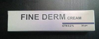 fine derm cream