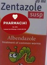 زنتازول… علاج الديدان الشائعة