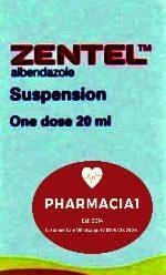 زينتال طارد لديدان الأمعاء واسع المجال – جرعة واحدة