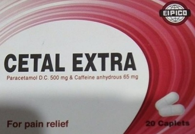 CETAL EXTRA tablets- EN