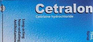 CRTRALON- 5mg Cetirizine Syrup