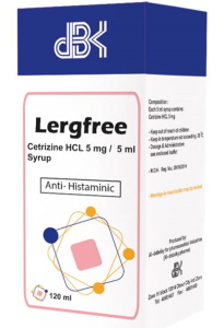 LERGFREE 5MG PER 5ML SYRUP