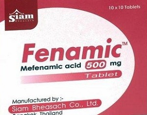 Fenamic 500 mg - mefenamic tablets