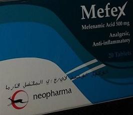 Mefex- Mefenamic acid 500 mg tablets