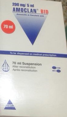 amoclan 228 suspension