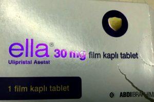 ella 30 mg Ulipristal Acetate tablet