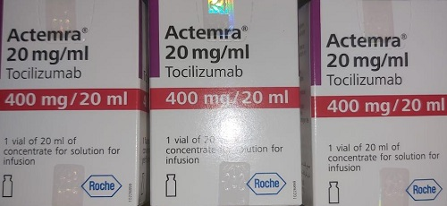 ACTEMRA IS TOCILIZUMAB FOR IV INFUSION BY F.HOFFMAN LA ROCHE