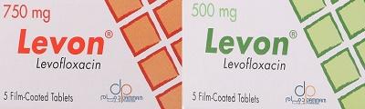 Levon is oral Levofloxacin by Dammam pharma