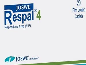 Respal is Risperidone generic by JOSWE- JORDAN