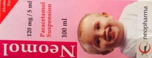 Neomol 120 mg paracetamol suspension by neopharma