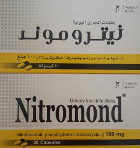 Nitromond - Nitrofurantoin capsules by diamond pharma