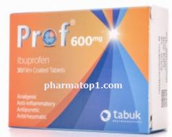 Prof tablets … relieves pain- lowers fever- treats inflammation