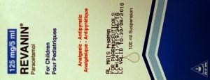 REVANIN 125 MG PARACETAMOL SUSPENSION