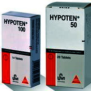 HYPOTEN TABLETS- ATENOLOL BY HIKMA PHARMACEUTICALS - JORDAN