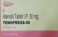 Tenopress tablets - atenolol by Pharma International Co (PIC)- JORDAN