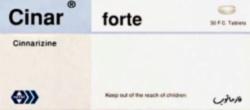 cinar forte tablets- cinnarizine by hayat pharmaceuticals