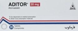 Aditor oral tablets