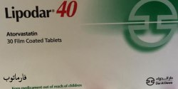 Lipodar - atorvastatin oral tablets
